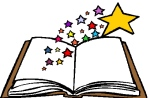 Book with stars