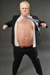 Rob-Ford bare belly