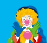 closeup_color_clown_vector_154422